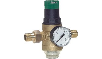 Water pressure reducer - Water filter