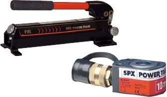 Power Team hydraulic tools - tube bending devices