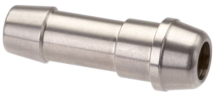 Hose nipple made of stainless steel with sealing cone - 60° cone, DIN 3863