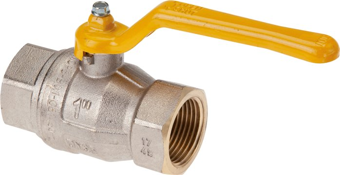 Ball valves, DVGW tested (PN 5 / MOP 5), EN 331, up to 50 bar