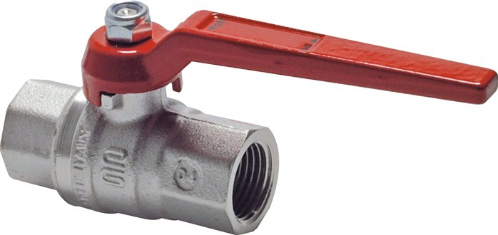 Ball valves, 2-piece, full bore, silicone free, up to 80 bar