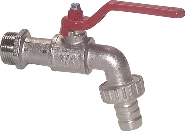 Ball drain valve, up to 15 bar