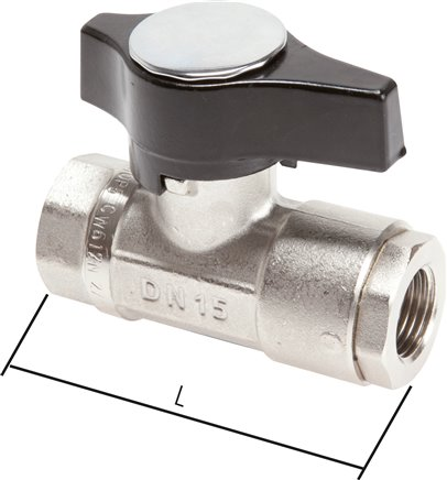 High-pressure ball valves, PN 210