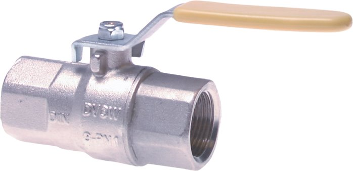 Ball valves, 2-part, for use in oxygen systems PN, 30