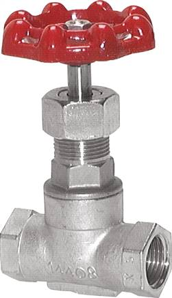 Stainless steel sleeve shut-off valves, PN 16  (will be discontinued)