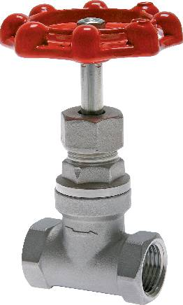 Stainless steel sleeve shut-off valves, PN 14 (Eco-line)