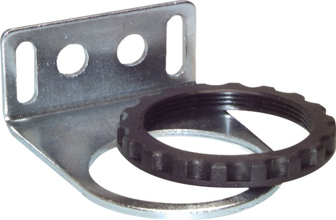 MULTIFIX Mounting brackets with ring and panel union nuts (M 50 x 1.5) (MW 2)