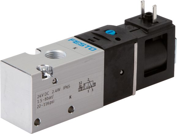 "Festo solenoid valves G 1/8"", Model series VUVS LK20"