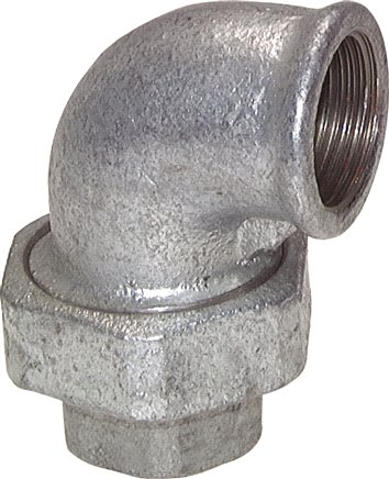 "Elbow screw connection conical sealing Rp 2-1/2"" (Female thread) (WT 212 ST)"
